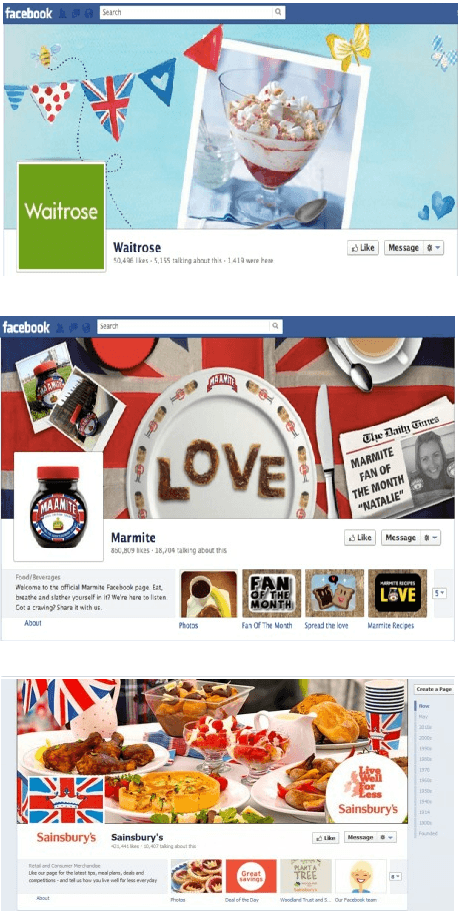 Social Media Jubilee Branding