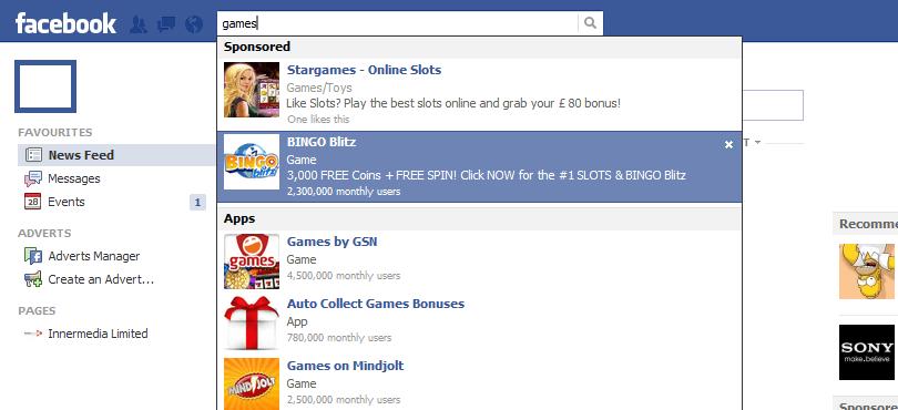 Facebook For Business - Sponsored Ads