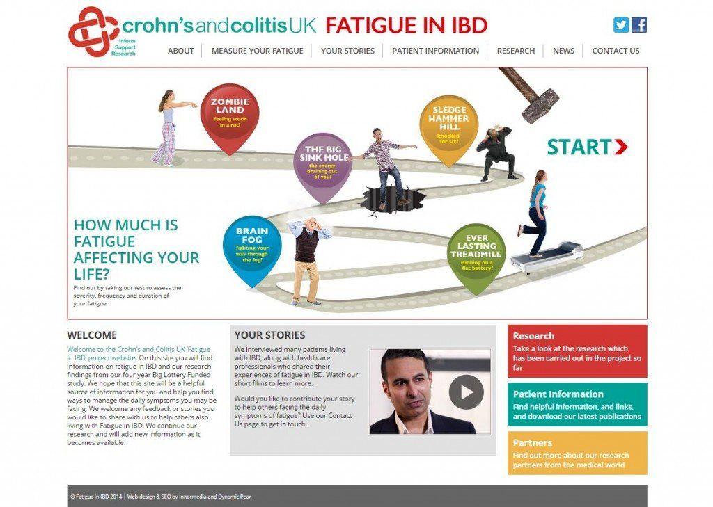 charity health website design