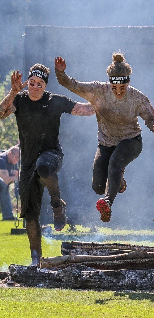 brogan and spencer at spartan