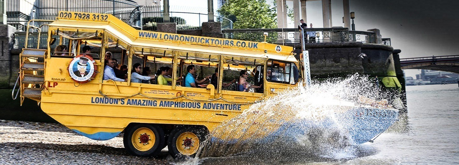 London Duck Tours Banner